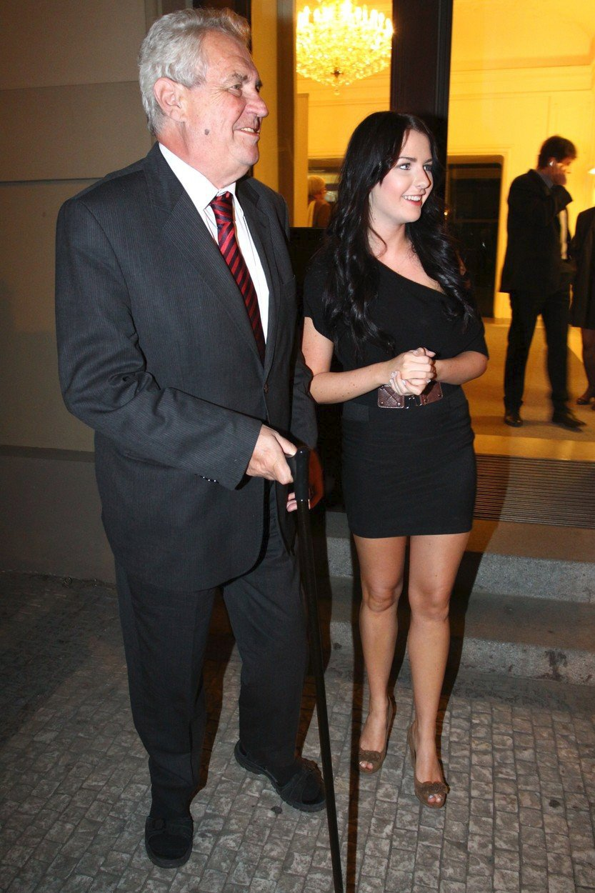 Kateřina Zemanová s otcem (2011)