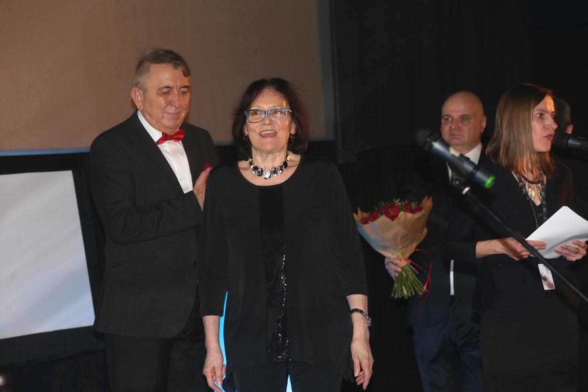 Marta Kubišová na závěrečném večeru Febiofestu.