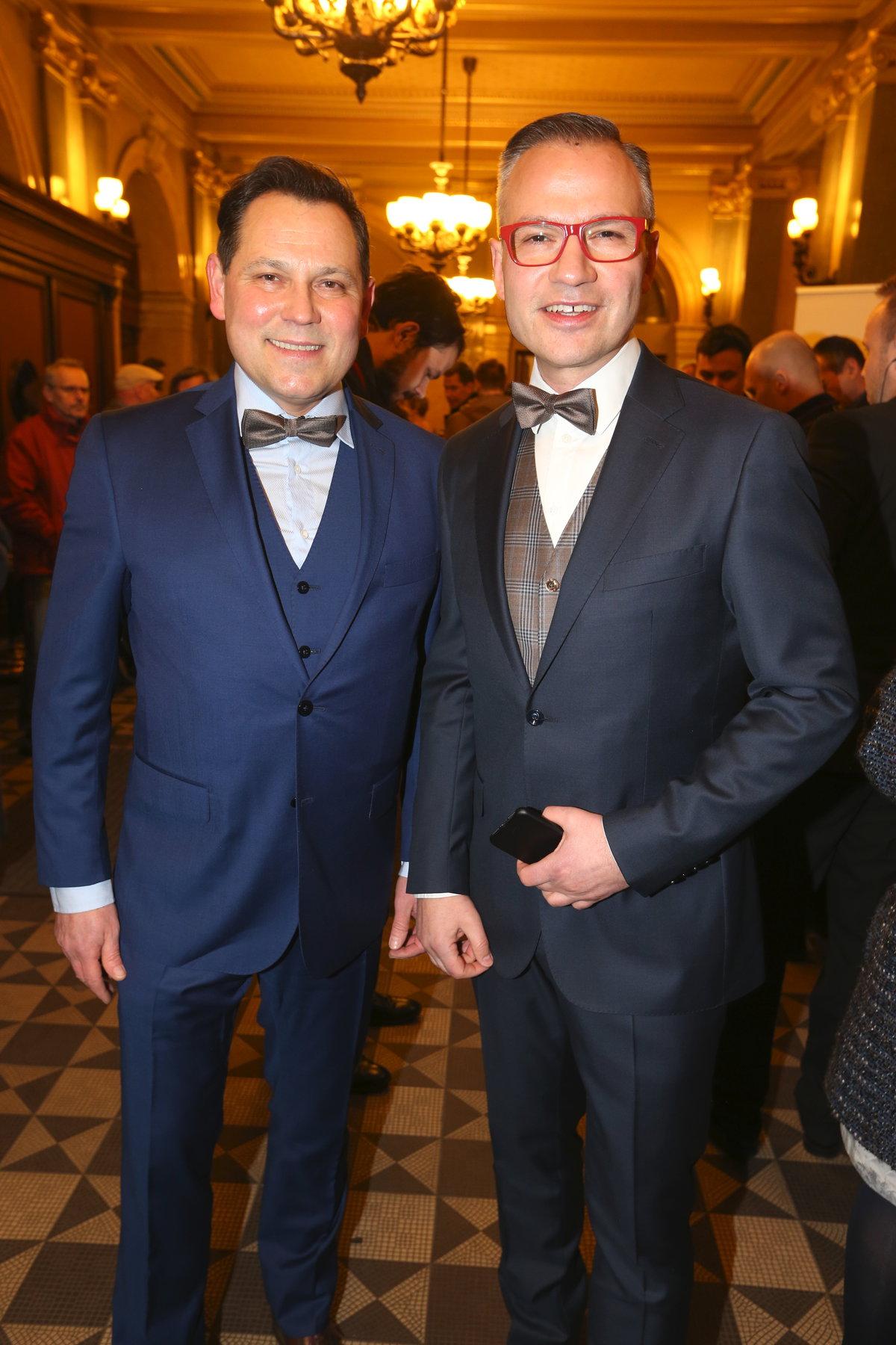 Pavel Vítek a Janis Sidovský