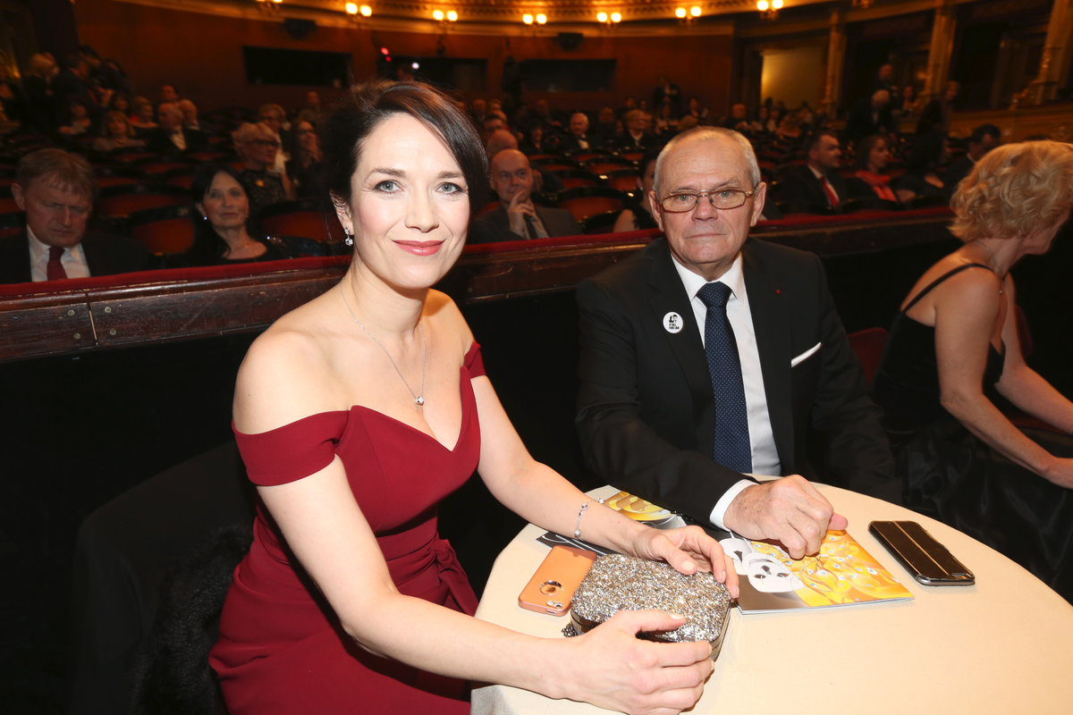 Tereza Kostková a Milan Kňažko