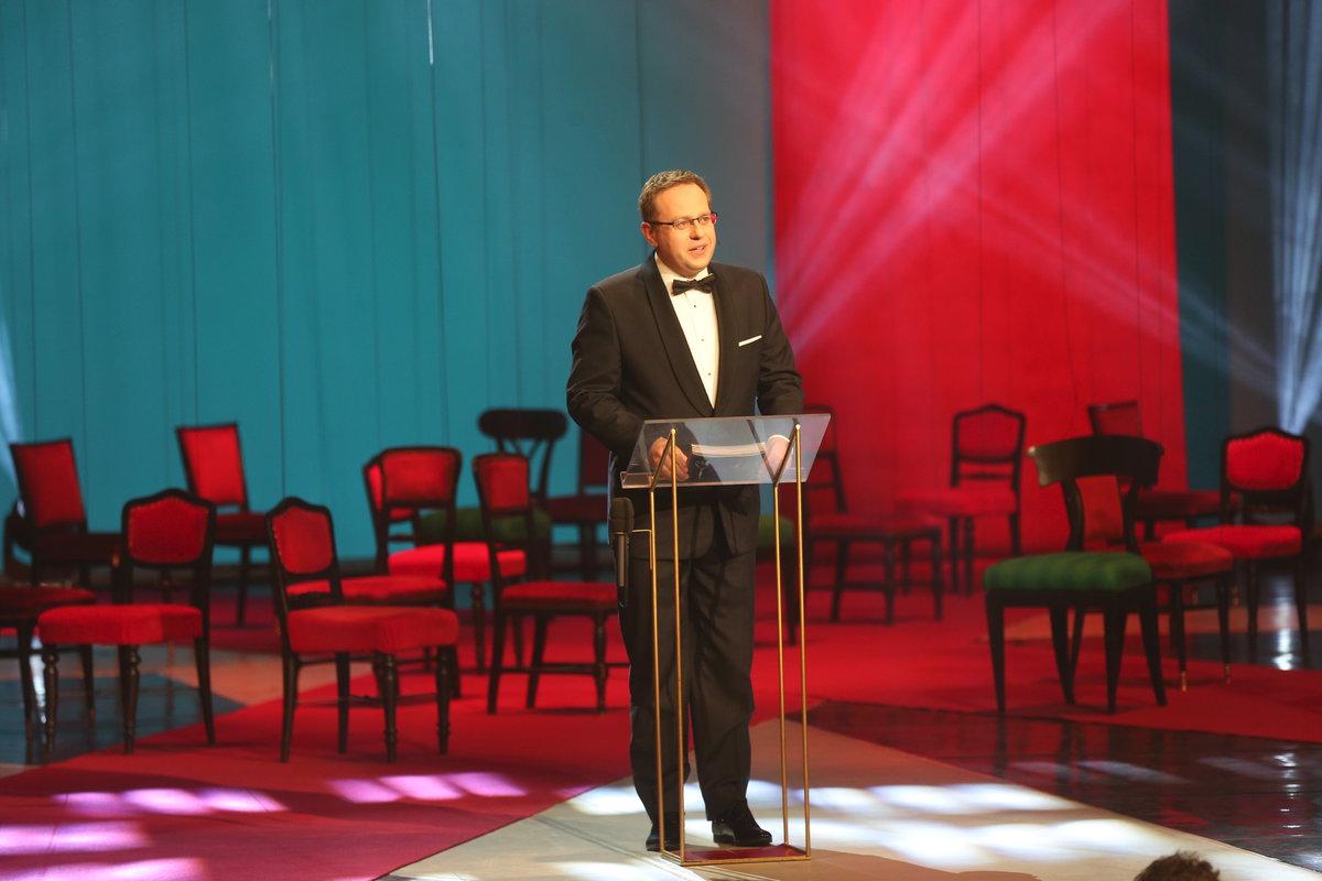 Moderátor večera Václav Moravec