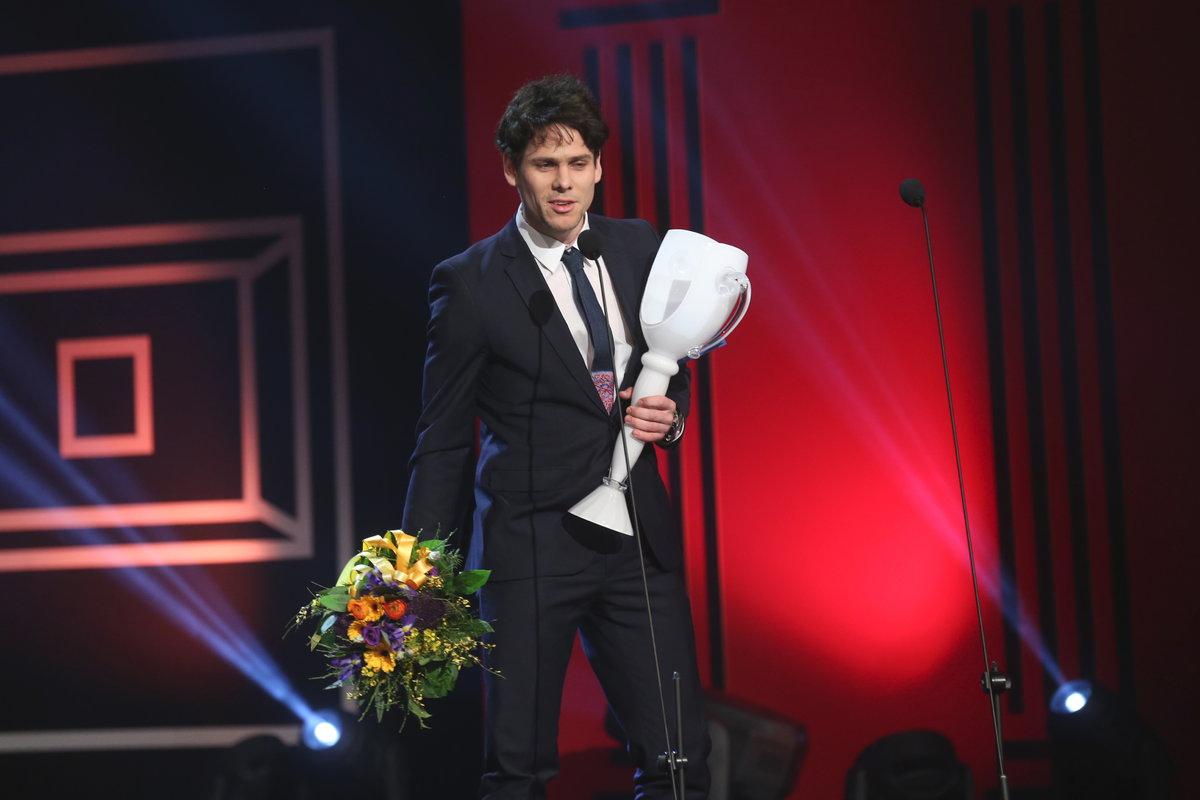 Ondřej Vinklát získal cenu Thálie v kategorii Balet