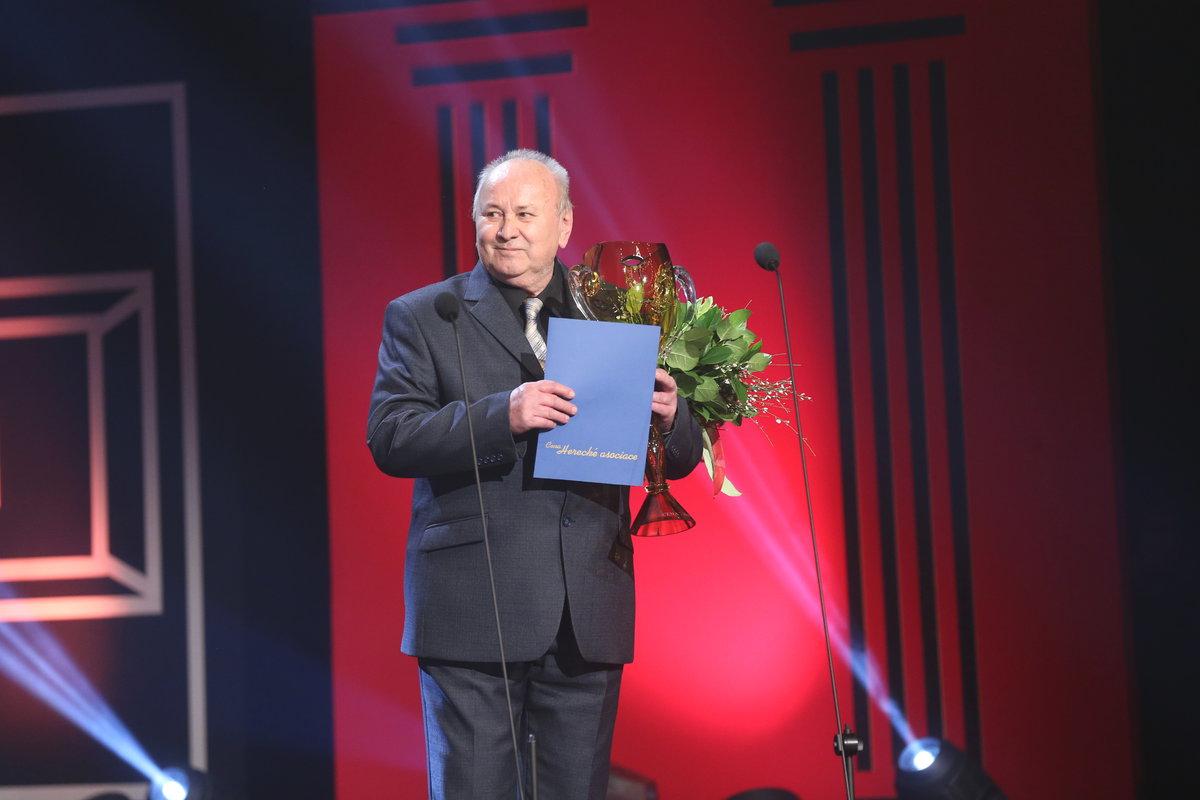 Richard Böhm získal cenu za celoživotní mistrovství v oblasti baletu