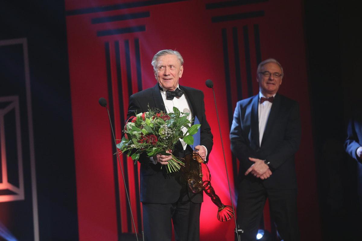 Petr Kostka dostal cenu Thálie za celoživotní mistrovství