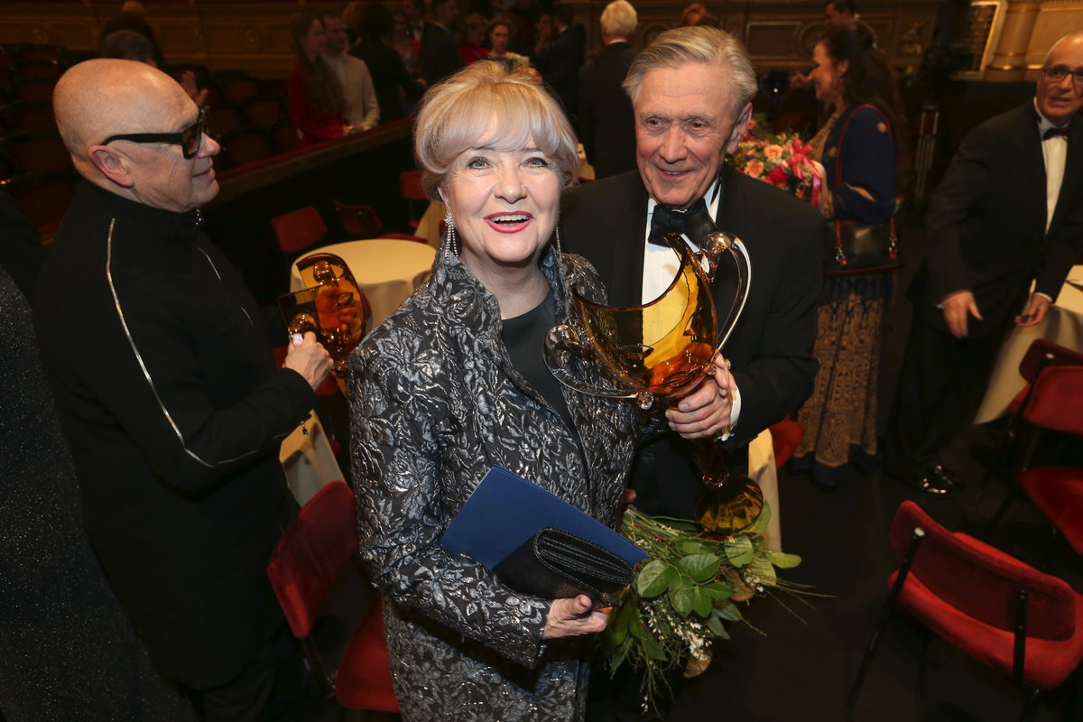 Petr Kostka s manželkou Carmen Mayerovou