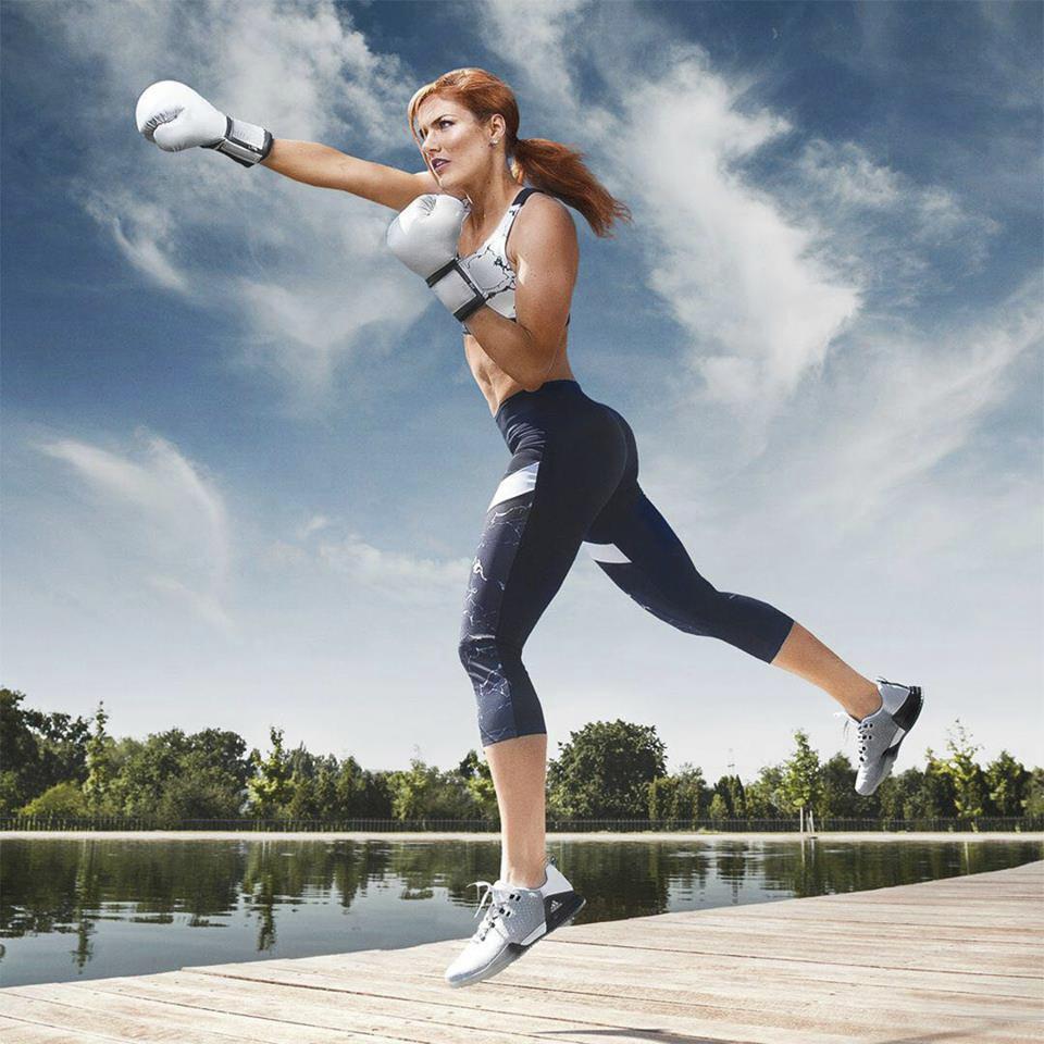 Gabriela Koukalová se věnuje i kickboxu