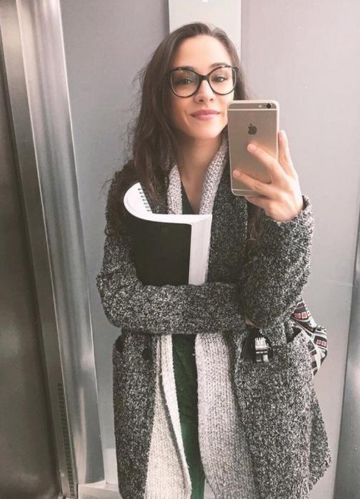 Herečka Eva Burešová