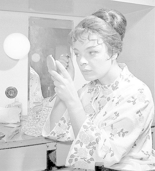 Jana Hlaváčová v roce 1956