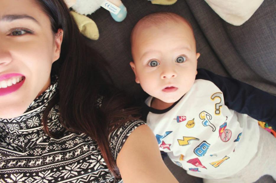 Jedním synkem to nejspíš nekončí, Eva Burešová by chtěla mít v budoucnu až pět dětí.