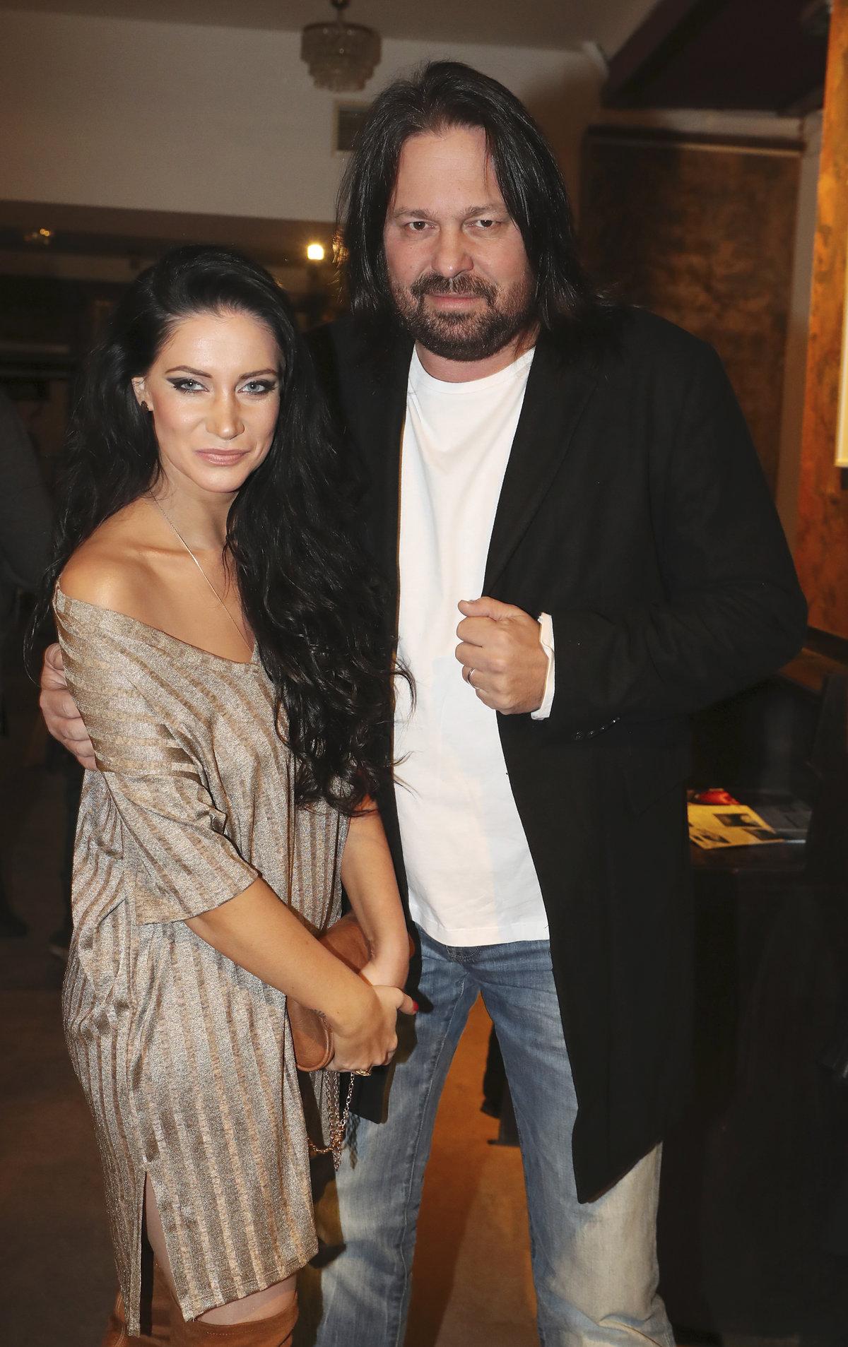 Jiří Pomeje s manželkou