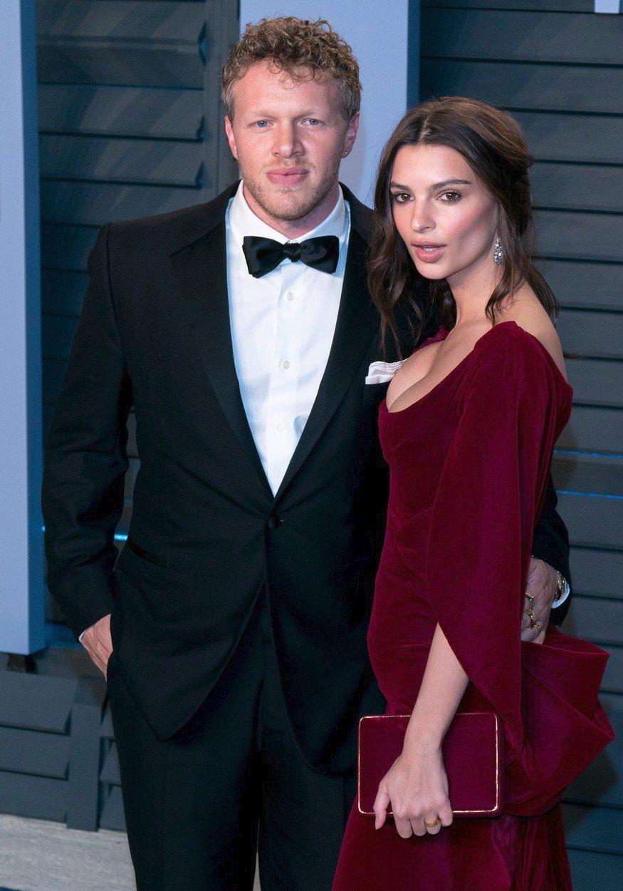 Emily Ratajkowski s manželem Sebastianem Bear-McClardem