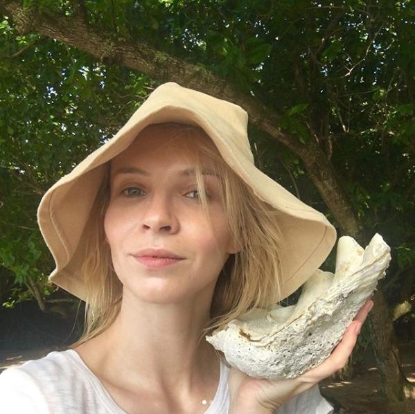 Jana Plodková na dovolené