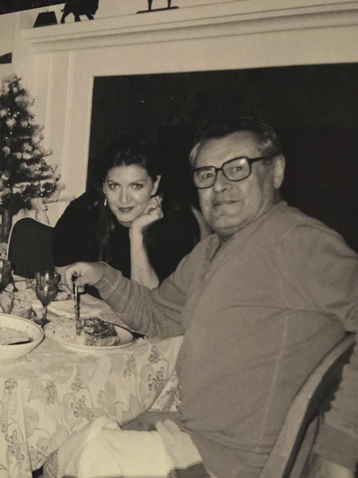 První společné Vánoce, napsala Martina k této fotografii