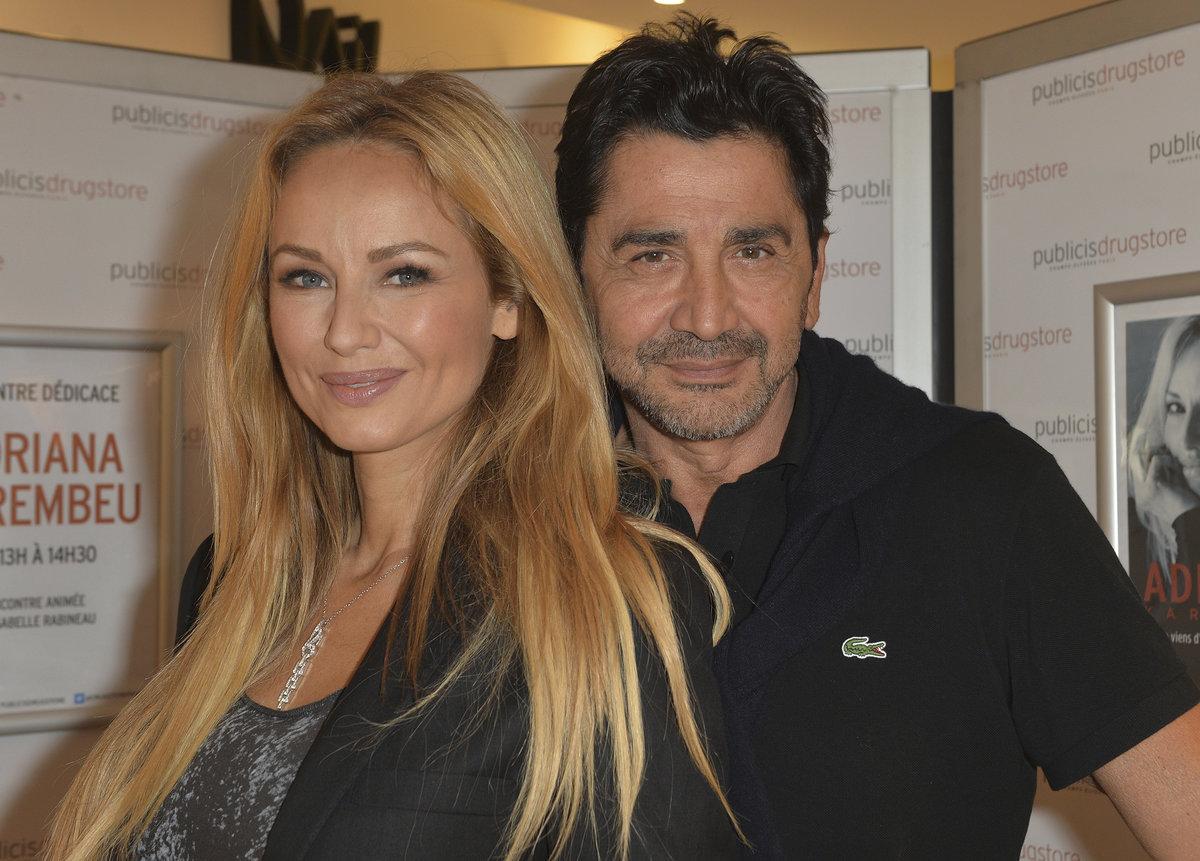 Adriana s manželem.