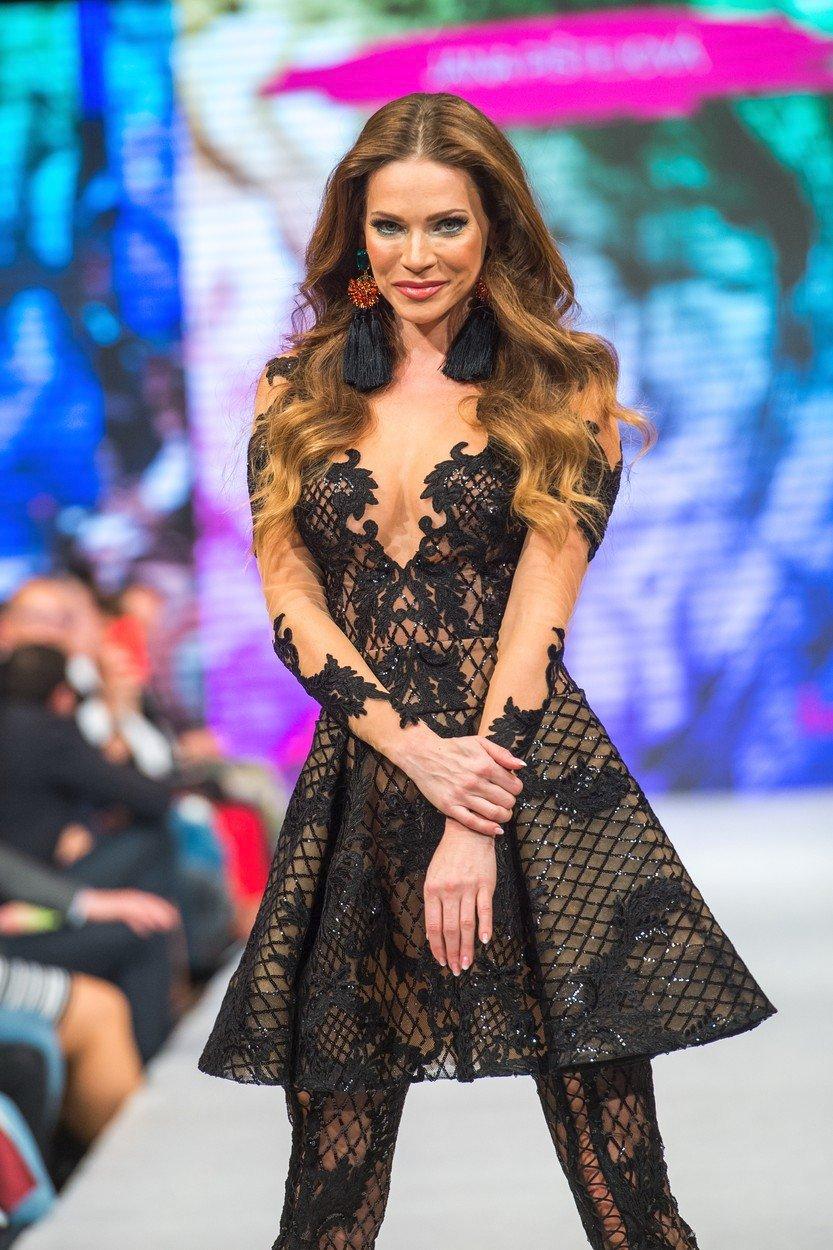 Andrea Verešová ukázala sexy dekolt