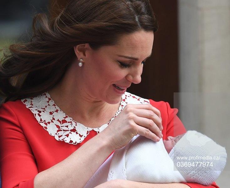Kate po porodu.