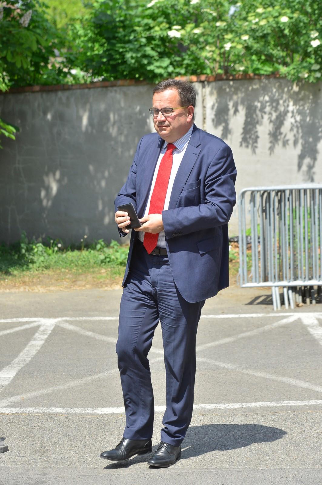 Dorazil i exministr průmyslu Jan Mládek