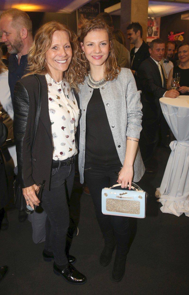 Lenka Filipová a její dcera Lenny.