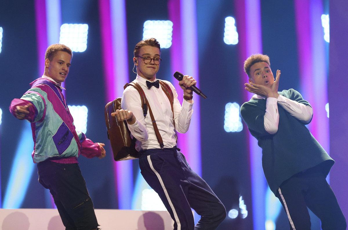 Mikolas Josef ve finále soutěže Eurovize