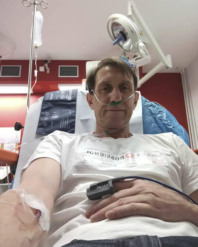 Jan Antonín Duchoslav v Ústřední vojenské nemocnici
