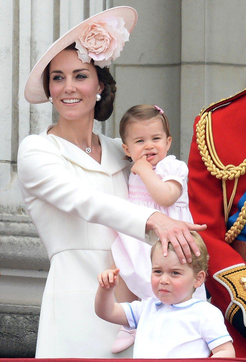 Vévodkyně Kate v roce 2016