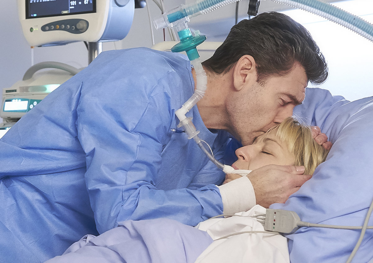 Její smrt byla na place nejnáročnější pro jejího seriálové manžela Hanáka Radima Fialu.