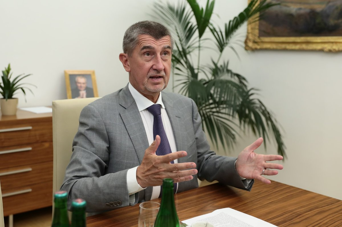 Předseda hnutí ANO a premiér v demisi Andrej Babiš v rozhovoru pro Blesk