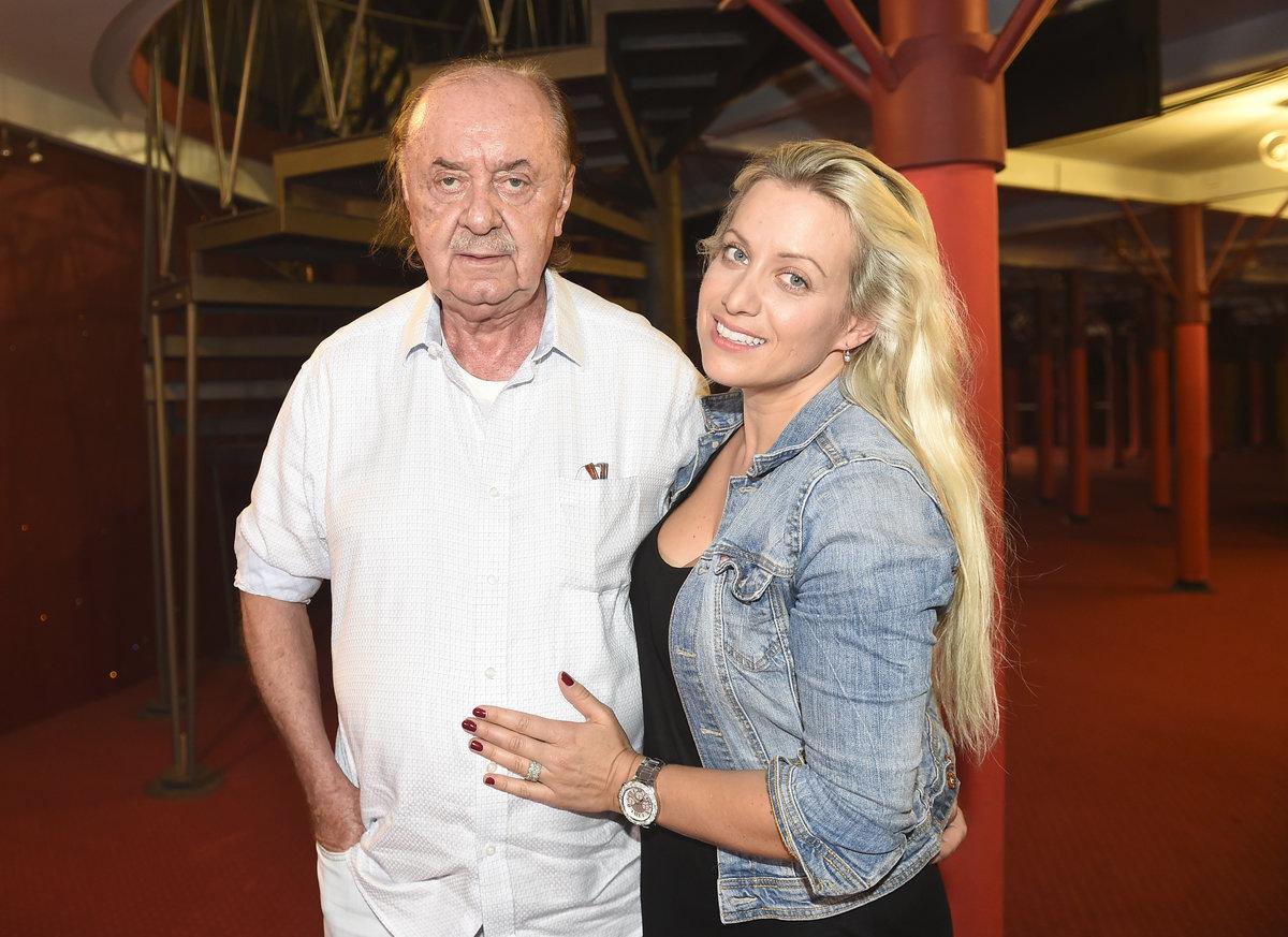 František Janeček a Tereza Mátlová