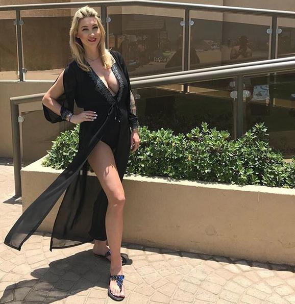 Dominika Mesarošová v Dubaji