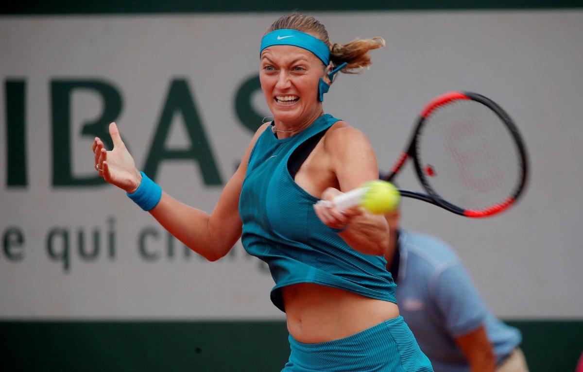 Petra Kvitová bojuje o postup do dalšího kola French Open