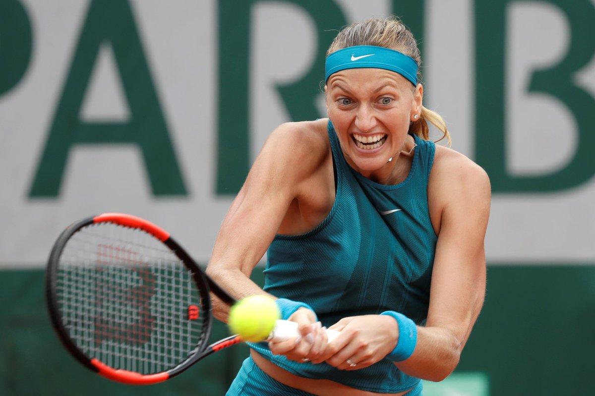 Petra Kvitová postoupila do dalšího kole French Open
