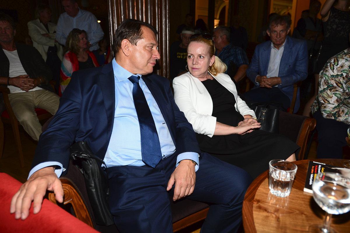 Jiří Paroubek a Hana Krampolová
