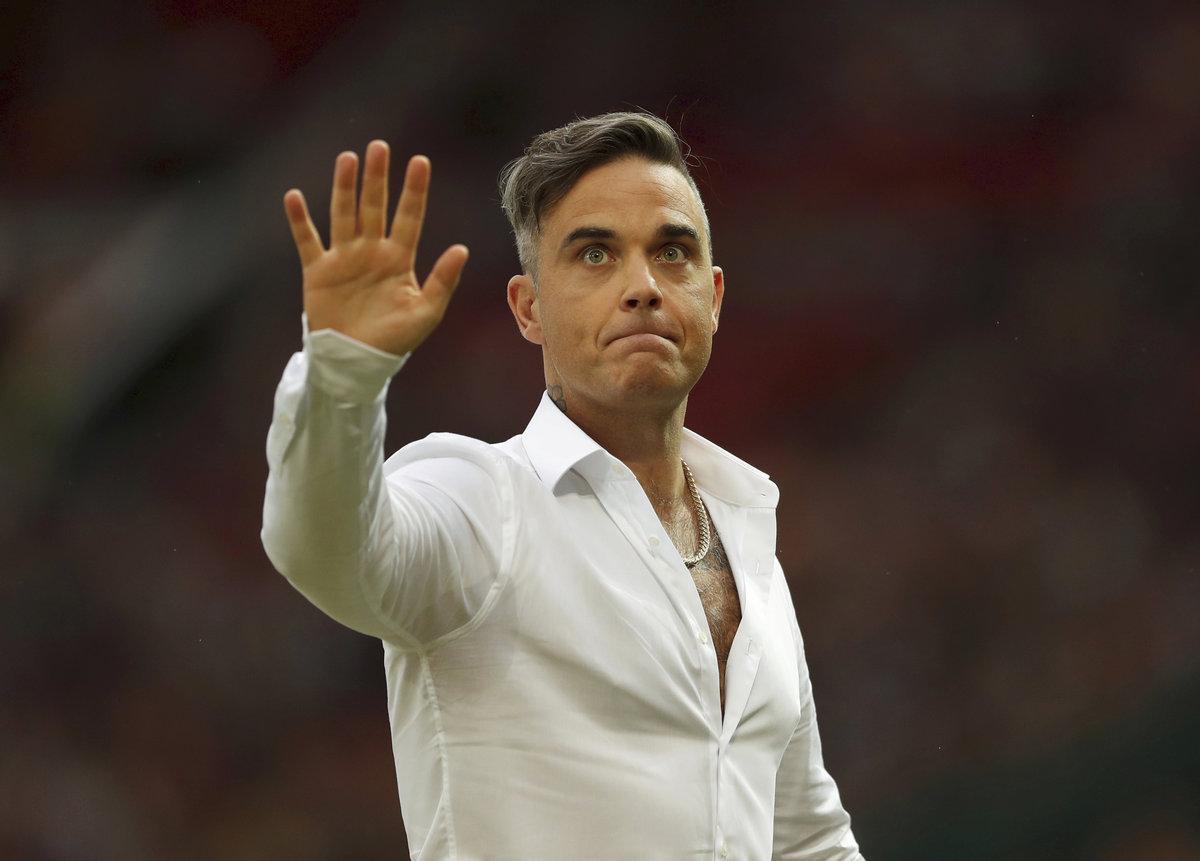 Robbie Williams bude hlavní hvězdou zahajovacího ceremoniálu