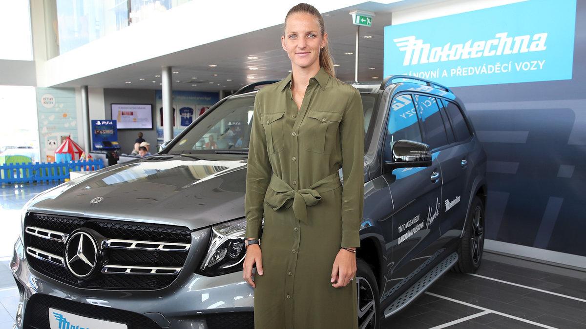 Karolína Plíšková dostala své první auto