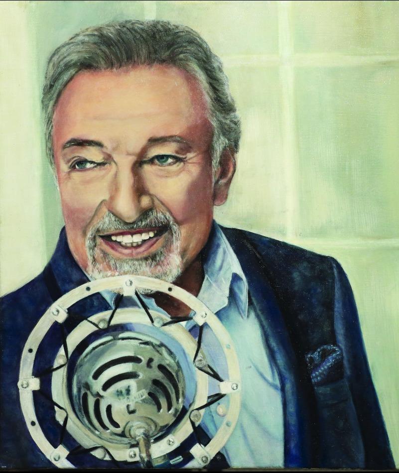Obraz namalovaný Ivanou Gottovou.