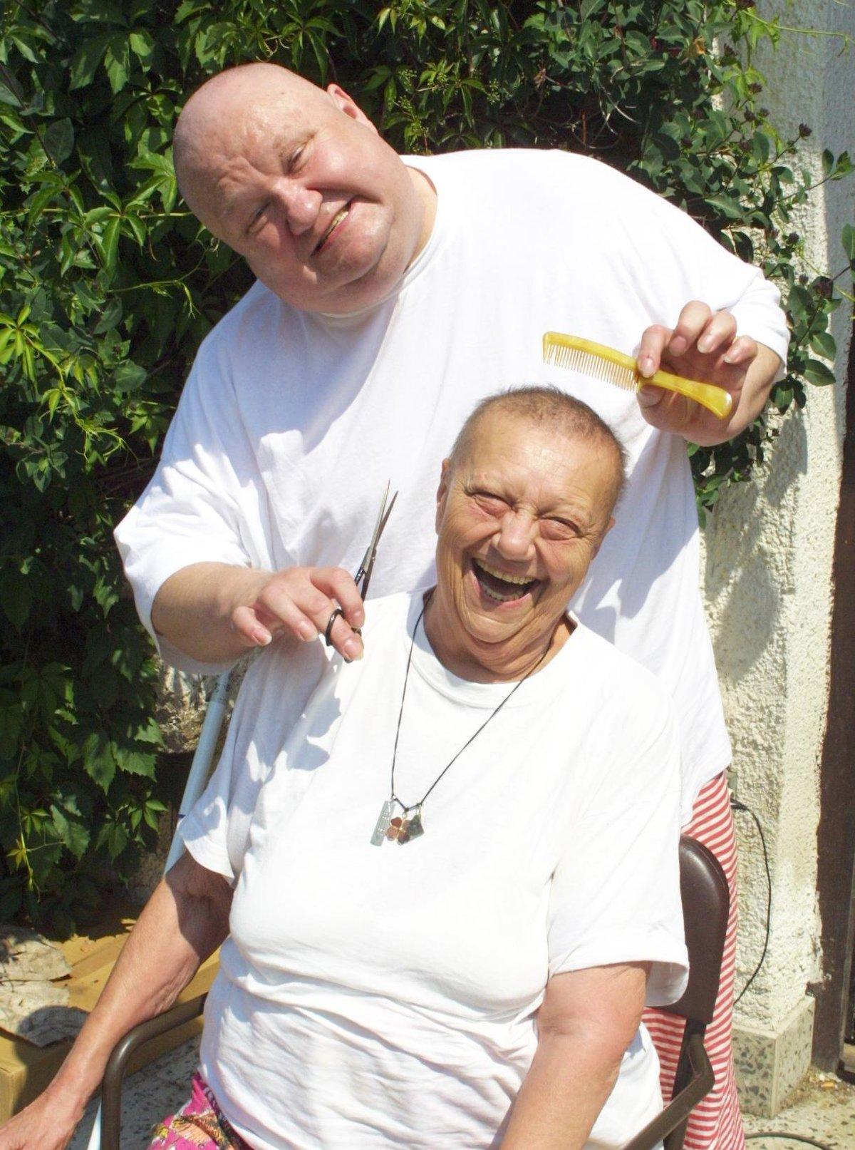 Václav Glazar a Helena Růžičková (†67)
