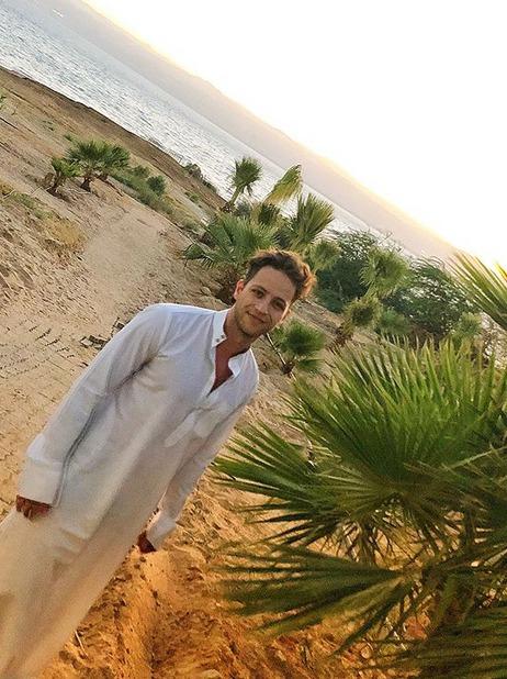 Milan Peroutka na dovolené v Jordánsku