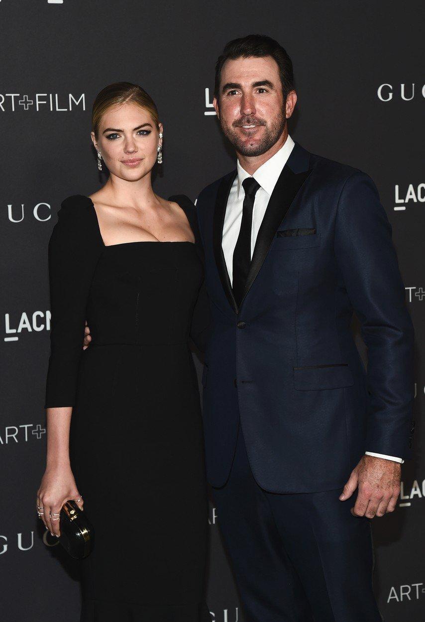 Kate s Justinem na LACMA Art and Film Gala v Los Angeles, 2016