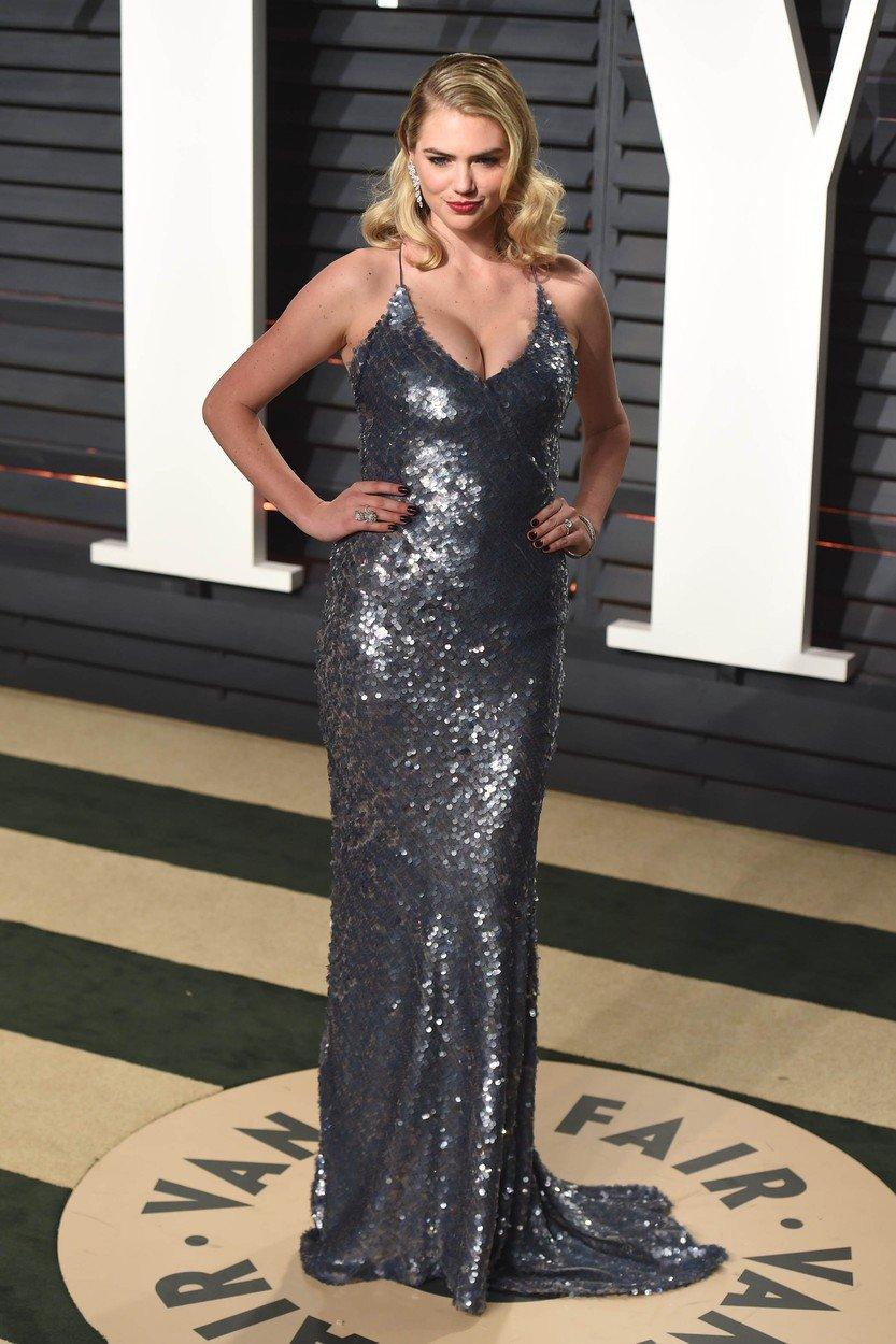 Kate na večírku Vanity Fair v roce 2017