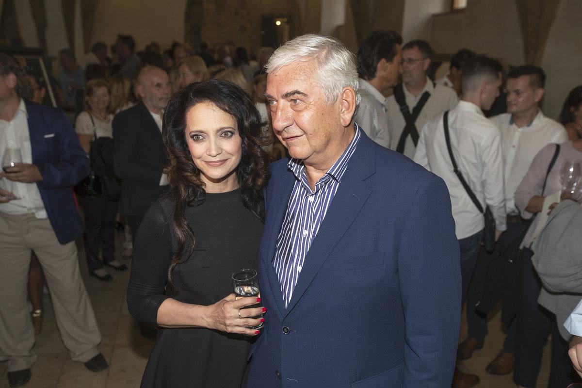 Lucie Bílá a Miroslav Donutil