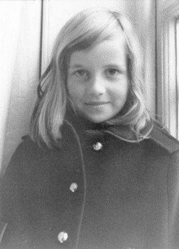 Princezna Diana v dětství