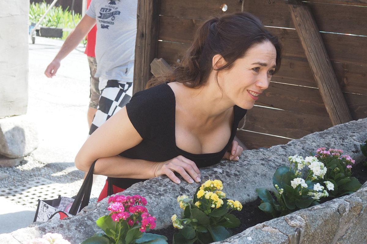 Natáčení filmu Léto s gentlemanem: Tereza Kostková