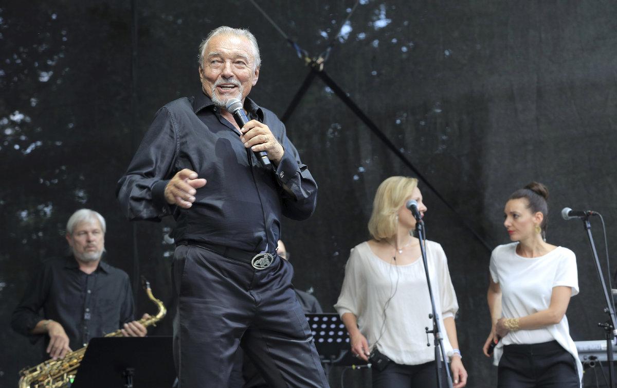 Karel Gott na Sázavafestu