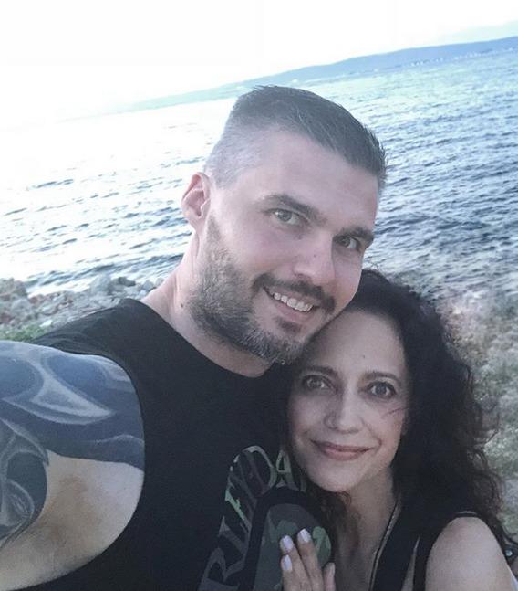Lucie Bílá a Radek Filipi na dovolené