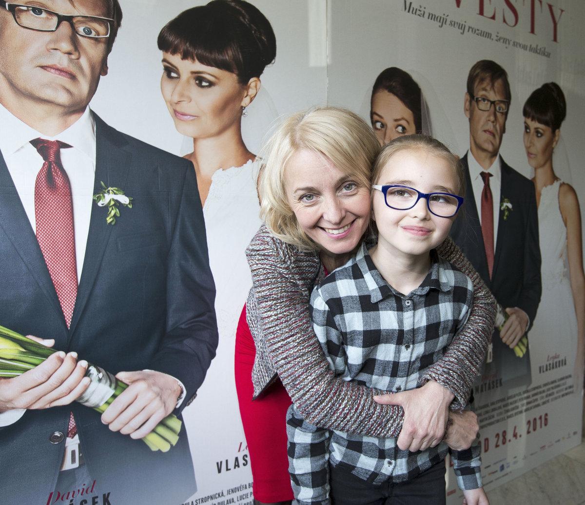 Veronika Žilková s dcerou Kordulkou