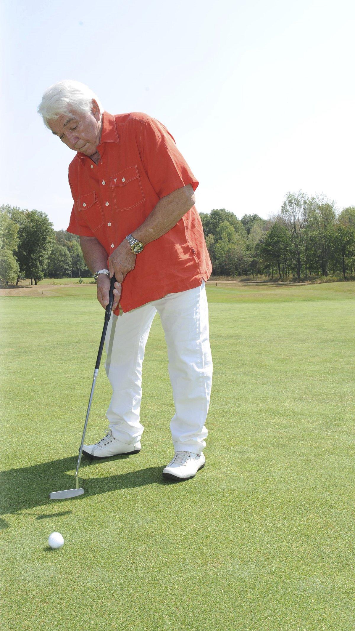 Jiří Krampol na golfu