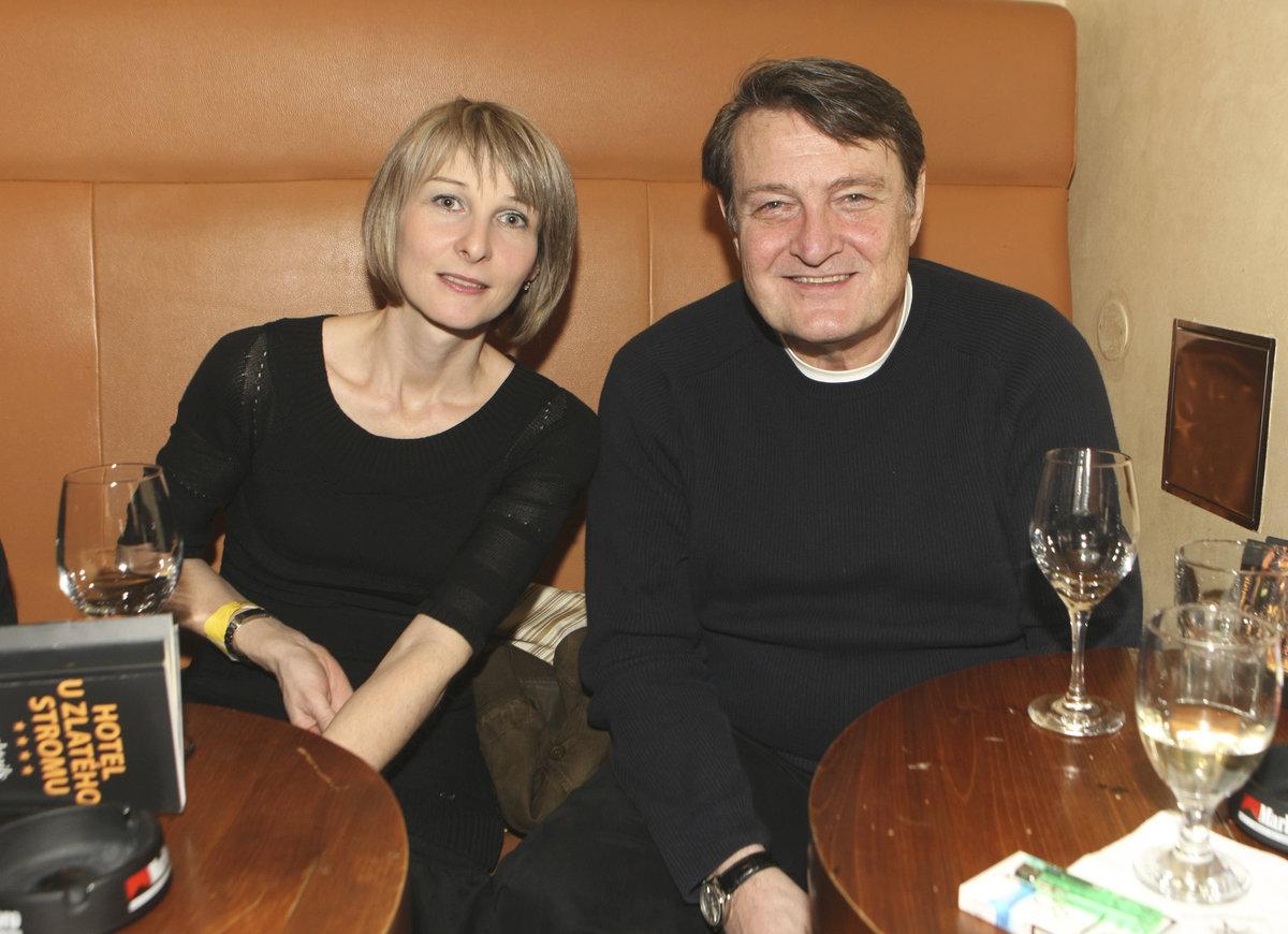 2012 - Ladislav Štaidl s expartnerkou Míšou Novotnou