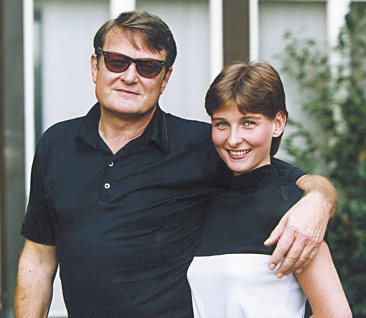 2001 - Ladislav Štaidl s expartnerkou Míšou Novotnou krátce po seznámení