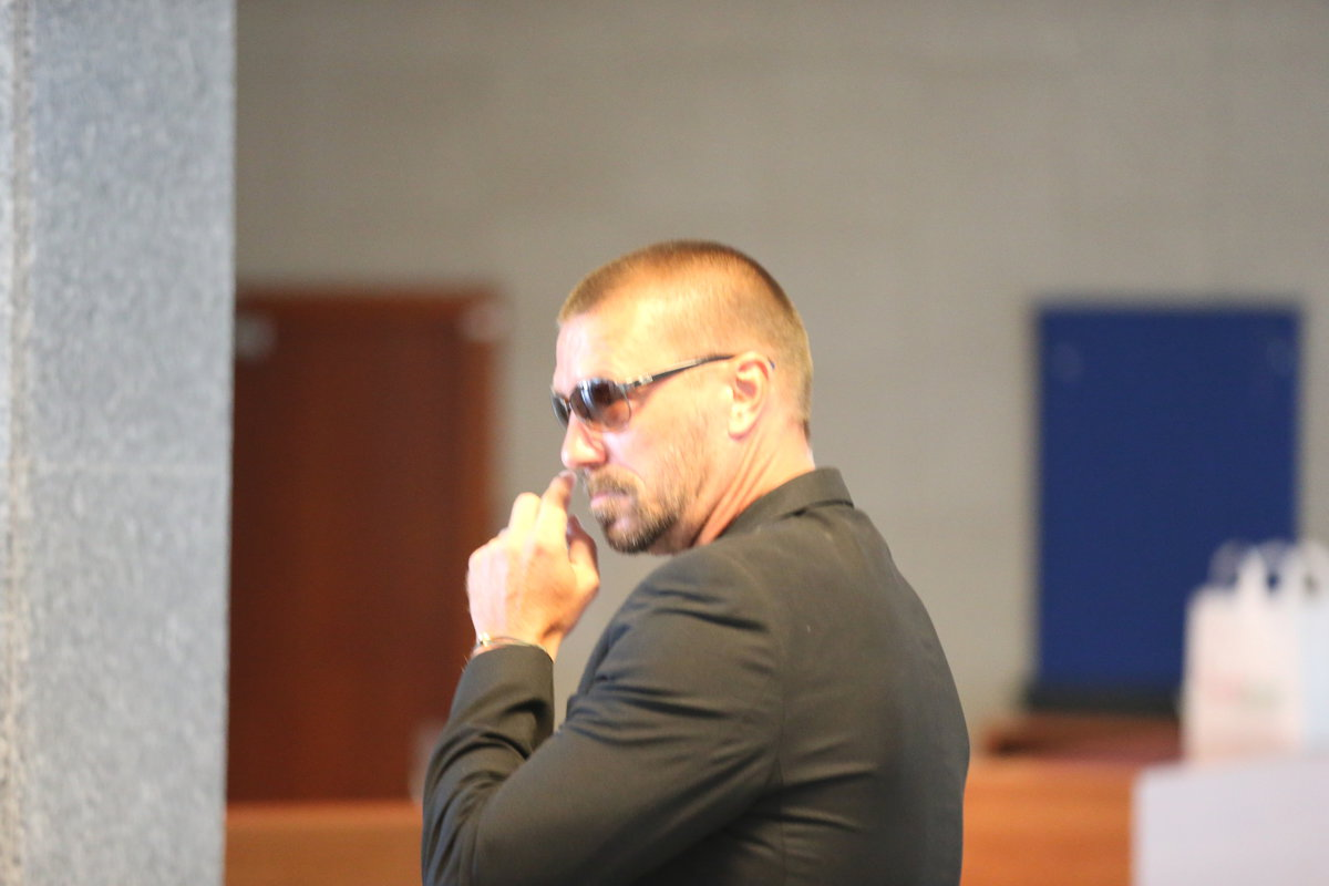 Tomáš Řepka u soudu