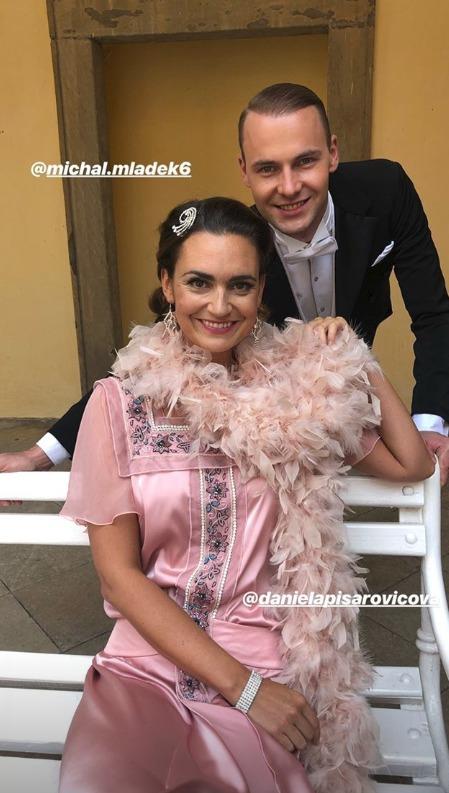 Daniela Písařovicová a Michal Mládek ve StarDance